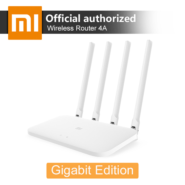 Xiaomi WiFi Router 4A Gigabit Edition 2.4G 5GHz 16MB ROM 128MB DDR3 Dual Band 1167Mbps WiFi Repeater Support IPv6  APP Control