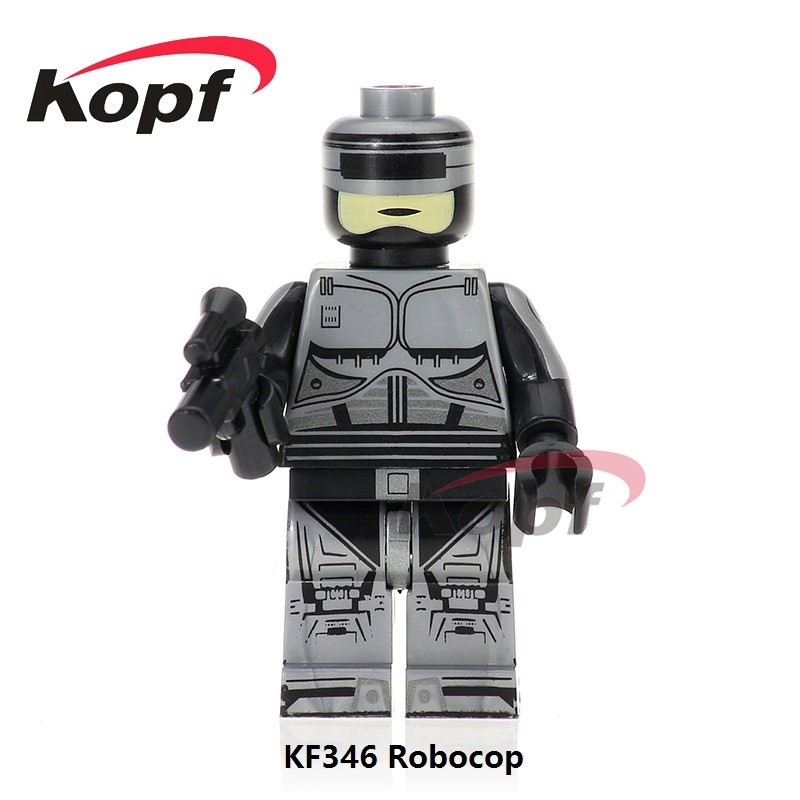 Single Sale Super Heroes Robocop Ghost Of Sparta Kratos Firestorm Ultimate Black Friday Building Blocks Children Gift Toys KF346 building blocks super heroes back to the future doc brown and marty mcfly with skateboard wolverine toys for children gift kf197
