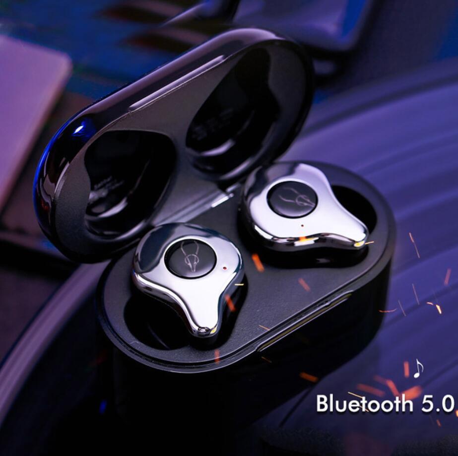 Sabbat E12 Bluetooth 5 0 True Wireless Earbuds running headphones Wireless Charging Handsfree 3D Stereo Sound