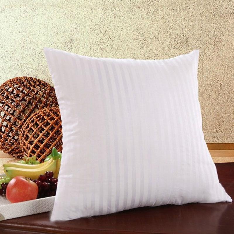White Cushion Insert Filling PP Cotton Throw Pillow Inner Core Decor Car Chair Soft Seat Cushion 35/40/45/50 Cm 40529