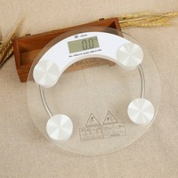 New Electronic Weight Scale LCD Display Extra Thick Tempered Glass Home Bathroom Health Digital Weighing Body Scale Auto On/Off
