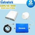 Lintratek 4G LTE 1800 (FDD Band 3) 65dB GSM 1800 MHz Teléfono Móvil amplificador de Señal Del Repetidor Conjunto Completo Amplificador de 65dB de Ganancia Celular