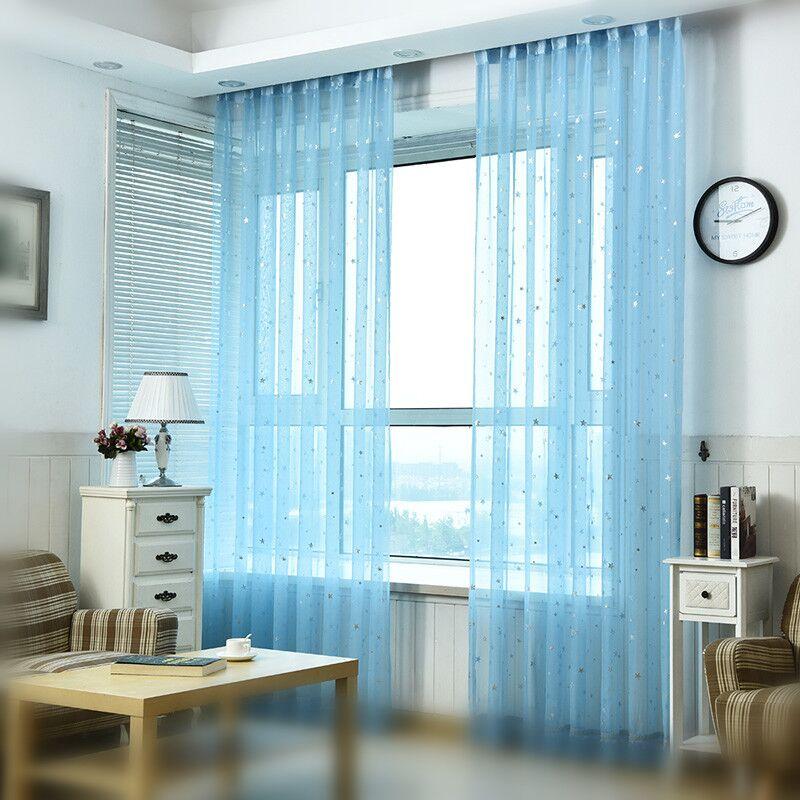 Бяла Стар Тюл Завеси Съвременни - Домашен текстил - Снимка 3