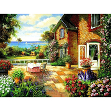 House and Table Oil Paint Painting By Numbers Diy Picture Drawing Coloring On Canvas Painting By Hand Wall Paint Landscape diana balmori drawing and reinventing landscape