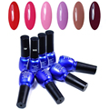 Candy Lover 8ML UV Gel Polish Choose 6 Colors +1 Base Gel +1 Top Coat From 240 Fashion Colors Nail Gel Set  Wholesale