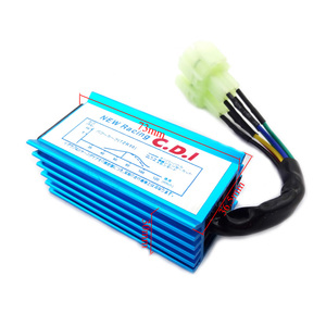Image 2 - สีฟ้า 6 Pin Racing AC CDI GY6 รอบ Pin Ignition กล่องสำหรับ 50cc 90cc 110cc 125cc 150cc เครื่องยนต์ 2 จังหวะรถจักรยานยนต์สกู๊ตเตอร์ ATV Quad Buggy