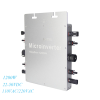 MAYLAR MaySun1200W MPPT Solar Power Pure Sine Wave Micro Inverter Inmetro 22 50VDC to 180 260VAC IP65 Waterproof