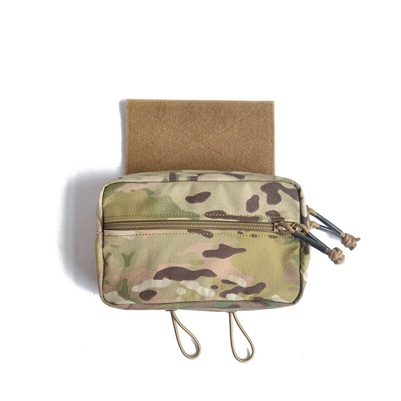 Chassi mk3 peito rig saco sub abdominal bolsa para d3crm mini tático equipamento de peito airsoft caça colete tático TW-P032