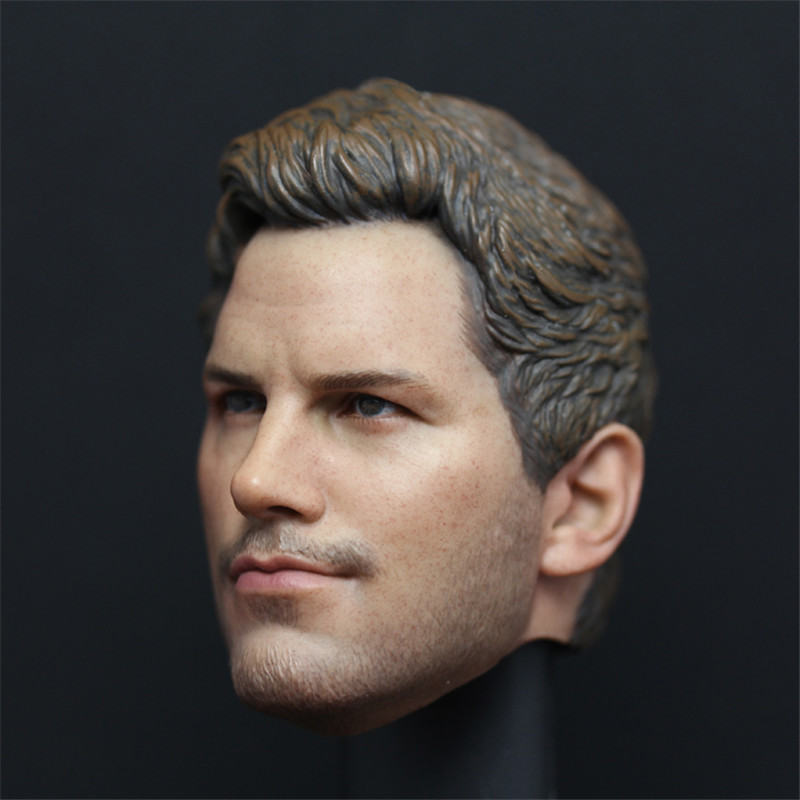 Mnotht Toy Custom Chris Pratt 1/6 Head Sculpt with Earpiece for Hot Toys Star Lord Body l30 chris ott global solutions for multilingual applications