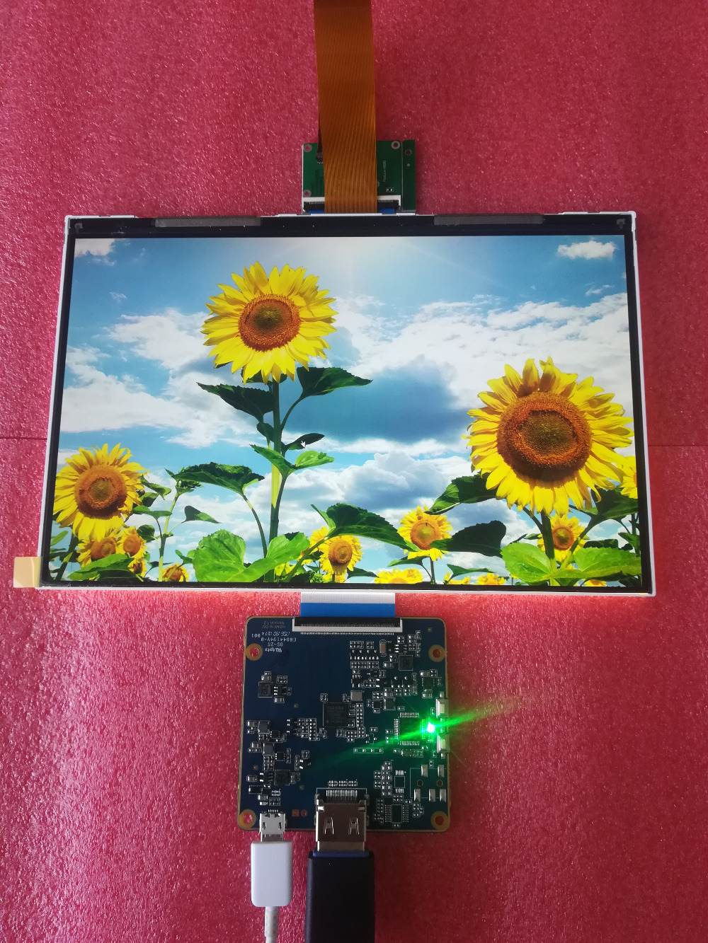 2560*1600 high resolution 8.9 inch 60hz IPS lcd screen with Drive Board HDMI Display Projector Kit for 3D Printer Monitor board
