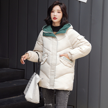 2019 Hoodies Parka Mujer Winter Women Coat Thick Down Cotton Padded Hooded Jacket Plus Size 4xl Long Parkas Women Overcoat 1
