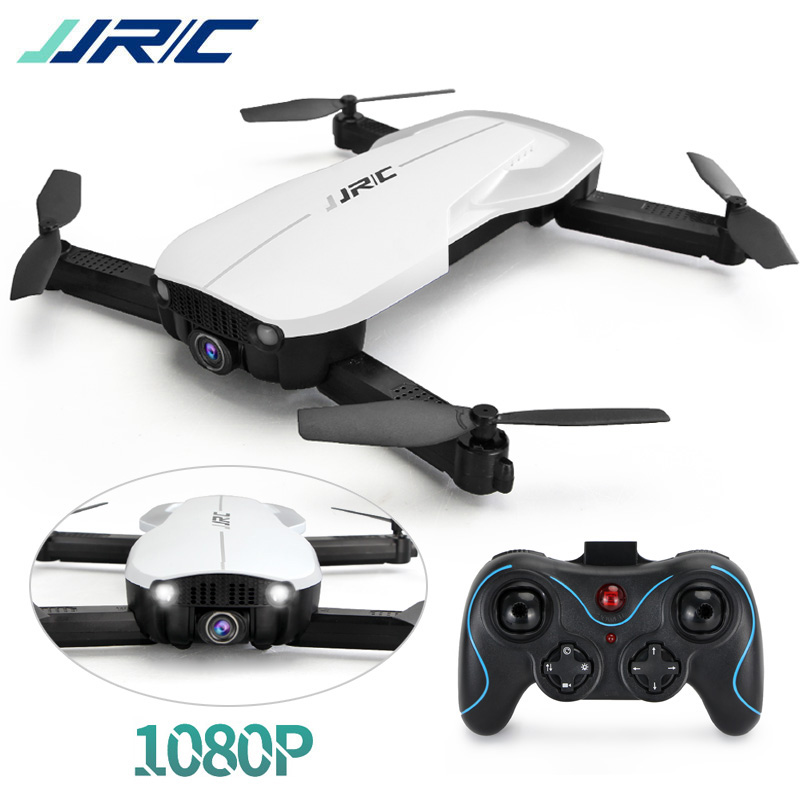 JJRC H71 RC Quadcopter Foldable Drone 1080P HD Camera Auto Follow Optical Flow Positioning with Portable Protective Bag Outdoor burly short sissy bar