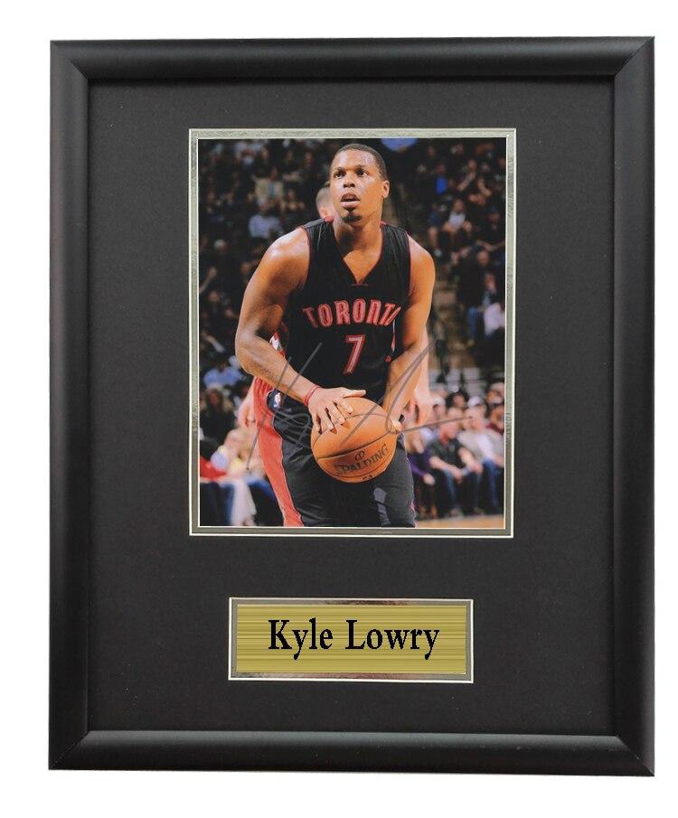 reputable site 51576 8bb10 Memorabilia come with SA COA of Toronto Raptors Lowry ...
