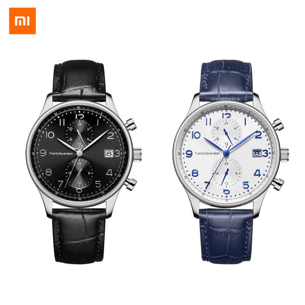 2colors Xiaomi Youpin TwentySeventeen Light Business Quartz Watch High Quality Elegance For Man And Women