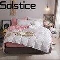 Solstice домашний текстиль простое и удобное дышащее одеяло для активного отдыха простыня наволочка постельные принадлежности 3/4 шт