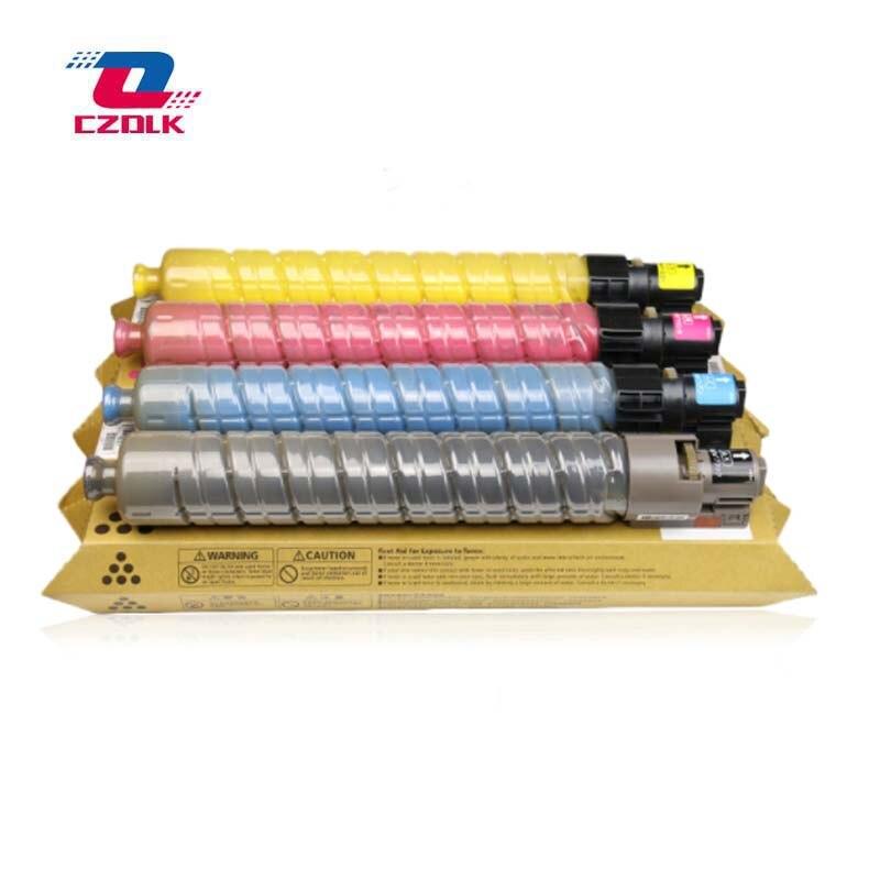 New compatible Toner Cartridge for Ricoh MPC2000 MPC2500 MPC3000 4Pcs 1Set K M Y C