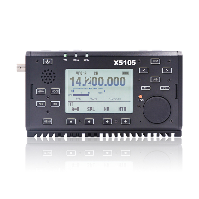 Xiegu X5105 открытый версия 0,5-30 мГц 50-5 мГц 5 Вт 3800 мАч КВ трансивер с если Выход КВ трансивер SSB CW AM, FM RTTY PSK DHL