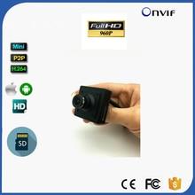 SD Card Slot 960P HD Mini IP Camera Home Security Pin hole Camera IP Camera Onvif