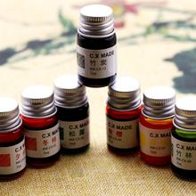 7ml Creative Colored Painting Ink Gold 12 Colorful Signature Pen Non-carbon Fountain Calligraphy Graffiti