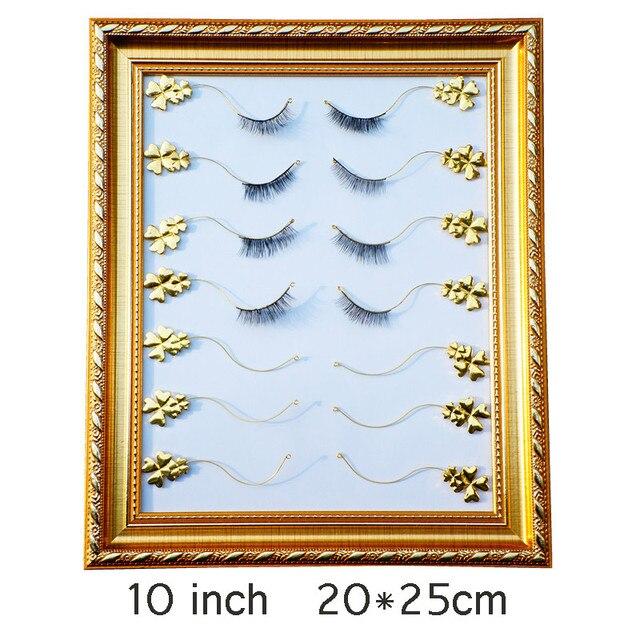 Grafted False Eyelashes High grade Flower Display Frame Metal Fake ...