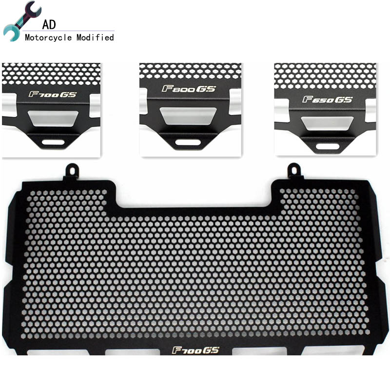 For BMW F650GS F700GS F800GS Adventure Radiator Guard Grille Protector Grill Covers Moto Motorcycle Accessories Moto #