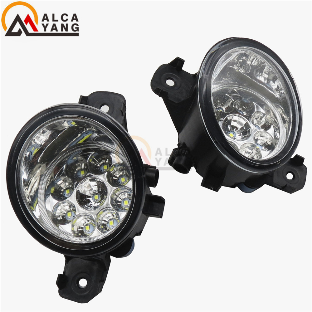 Malcayang Beautiful decoration Refit Car styling Fog Lamps 55W LED / halogen Lights 1SET For NISSAN QASHQAI 2007-2013