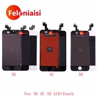10Pcs Lot High Quality 4 0 For IPhone 5 5G 5C 5S Full Lcd Display With