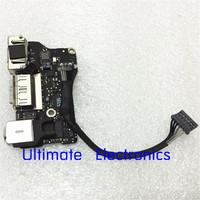 Original Power Audio Board USB DC Power Jack For MacBook Air A1466 13 MD761 MD760 2013