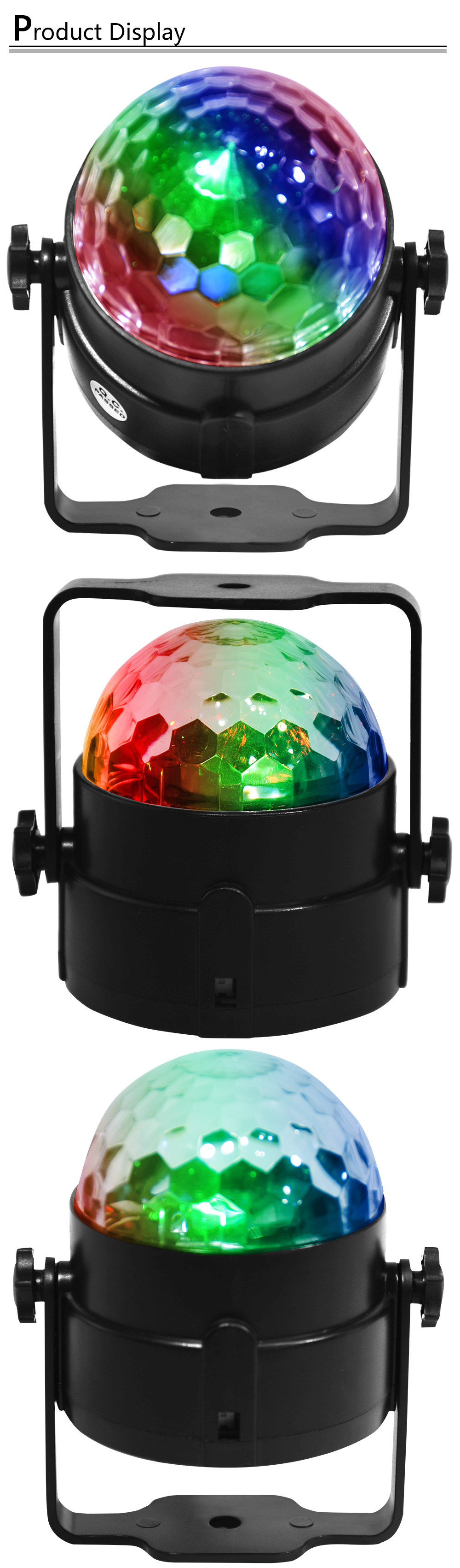 HTB1bgWkXAL0gK0jSZFtq6xQCXXas - 7 Colors Disco Ball Lumiere 3W Sound Activated Strobe Led RGB Stage Lighting effect Lamp Laser Christmas Dj KTV Light Party Show