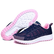 Jogging Sneakers Women Summer Breathable Running Shoes Coupl