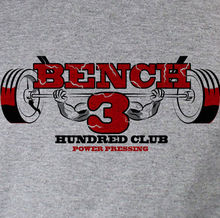 BENCH 300 LBS Powerlifting Workout shirt to keep you motivated! Grey Tee  Harajuku Tops Fashion Classic Unique free shipping
