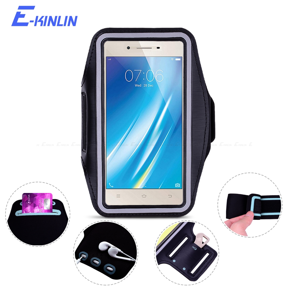 Outdoor Arm Band Cover Case For BBK vivo Y25 Y31 Y33 Y35 Y37 Y51 Y53 Y53i Y55 Y55s Sport Running Gym Phone holder Bag Pouch