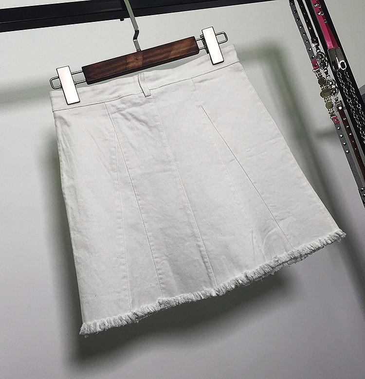 HTB1bgXpOVXXXXcNapXXq6xXFXXXm - American Apparel button Denim Skirt JKP265