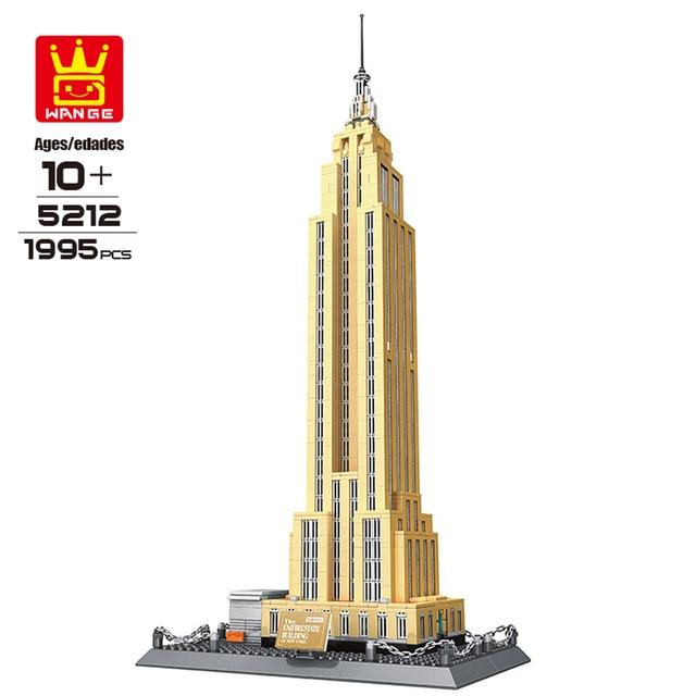 wange 5212 building blocks world famous architecture series empire