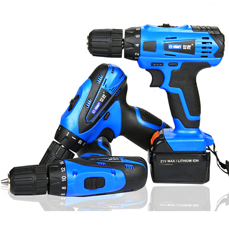 12 16 21v cordless drill rechargeable 1pc battery lithium accumulator for screwdriver mini eletric drill herramientas
