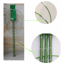 3 Pcs/ Set Heavy Duty Tomato and Plant Support Cage Plant-Staking System (45 cm)