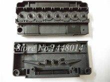 Haute qualité DX5 tête dimpression DX5 solvant tête dimpression couverture adaptateur pour Mutoh VJ1624 1638 1617 H 2638 1604 1614 Allwin collecteur