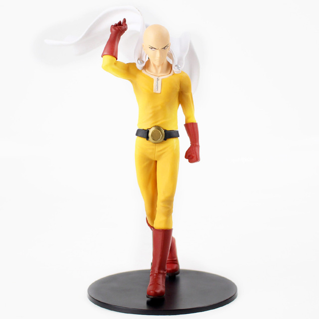 Anime One Punch Man DXF Premium Figure Saitama Figurine Toy Anime IN Box 20cm