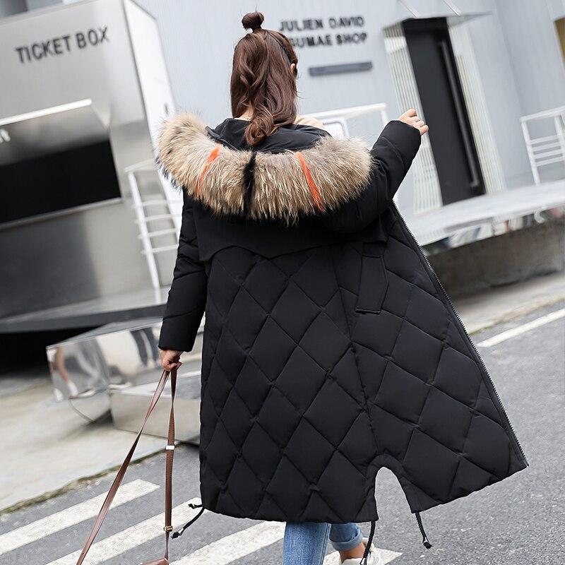 Beieuces Winter Jacket Γυναικεία Faux Γούνα Με - Γυναικείος ρουχισμός - Φωτογραφία 4