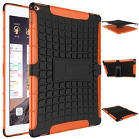 2 In 1 TPU PC Spider Heavy Duty Armor Hybrid Kickstand Shockproof Stand Holder Cover Case