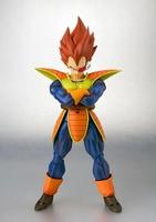 Dragon Ball S H Figuart red Hair Battleframe Vegeta SHF Action Figure Dragon Ball Model Figure