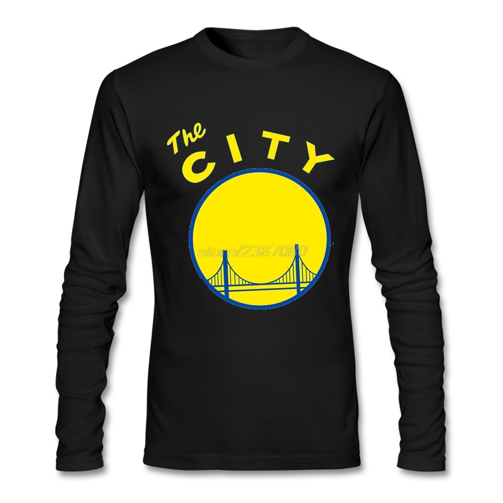 Fashion 2019 Clothes Golden State San Francisco The City California Popular T Shirts Cotton Hot Selling Mens Full Sleeve T-Shirt