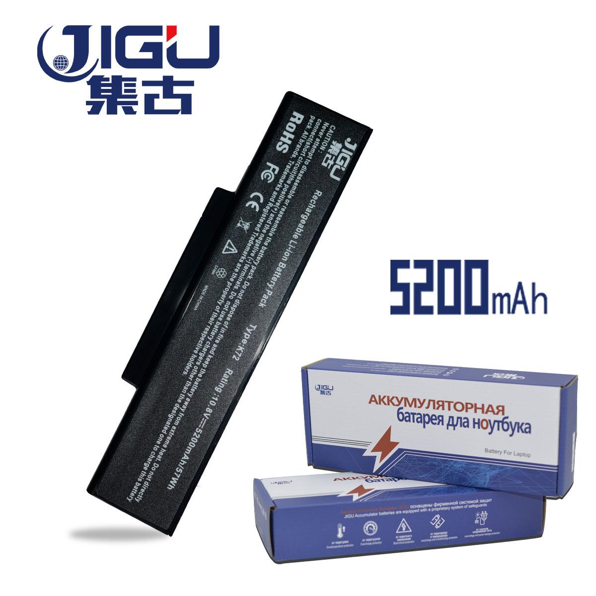 JIGU Laptop Battery For Asus A32-N71 A32-K72 K72 K72F K72D K72DR K73 K73SV K73S K73E N73SV 6 Cells