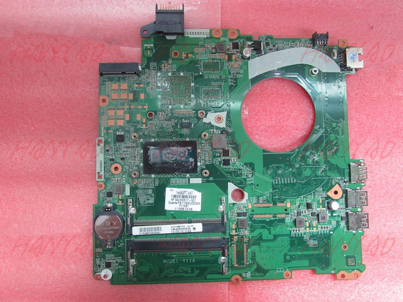799547-501 DAY11AMB6E0 For HP 15-P Laptop Motherboard i7 cpu DDR3 Free Shipping 100% test ok