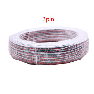 Image 5 - 2PIN 3pin 4Pin 5PIN 6Pin 22AWG LED เชื่อมต่อ LED RGB สายไฟสำหรับ WS2812 WS2811 RGB RGBW RGB CCT 5050 3528 LED Strip