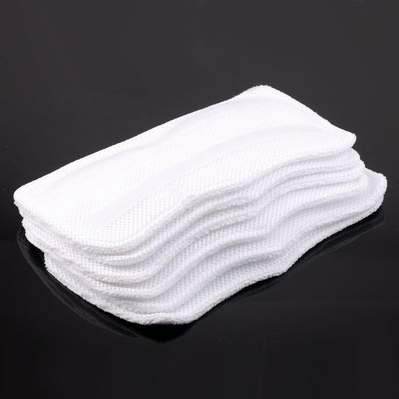 Practical 6pcs Reusable Washable Fiber Steam Mop Pad Household Cleaning Replacement Pads for S3250 S3101 S3251 Steam
