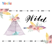 Yeele Baby Shower Family Photocall Cartoon Customized Photography Backdrop Personalized Photographic Background For Photo Studio