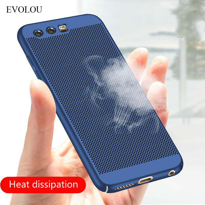 Coque Honor 8 Lite Case Ultra Thin Heat Dissipation Cover Case for HUAWEI Honor 9 V9 Hard Back PC Case Honor8 Honor9 Back Cover