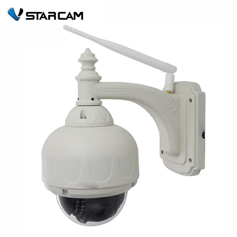Vstarcam C7833WIP WiFi 1MP HD 720P IP Camera P2P OutdoorWaterproof Dome Pan Tilt Wireless Security Pan/Tilt IR-Cut Camera