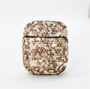 Image 5 - diamond Case For Airpods For Air Pods Shockproof Earphone Protective Cover Waterproof for iphone 7 8 Headset Accessories